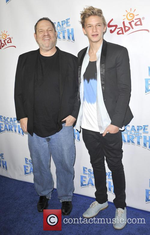 Harvey Weinstein and Cody Simpson 1