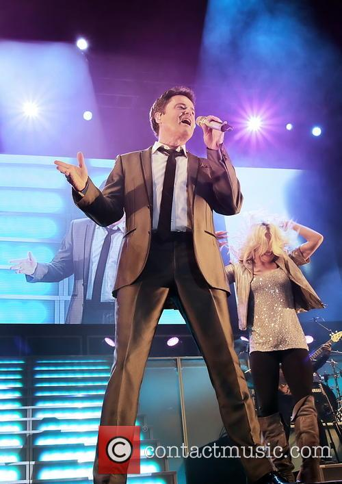 donny osmond donny and marie osmond last night 3480030