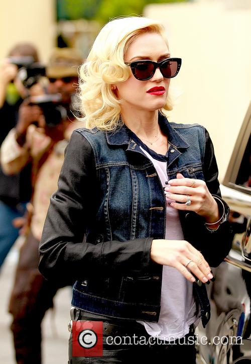 Gwen Stefani With Son