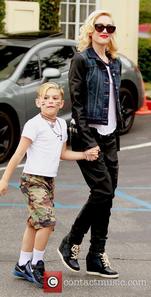 Kingston Rossdale and Gwen Stefani