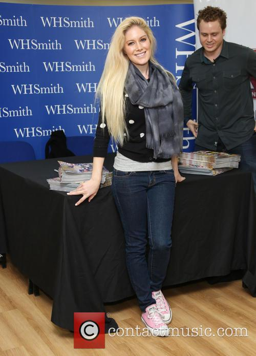 Heidi Montag and Spencer Pratt Signing at WHSmith...
