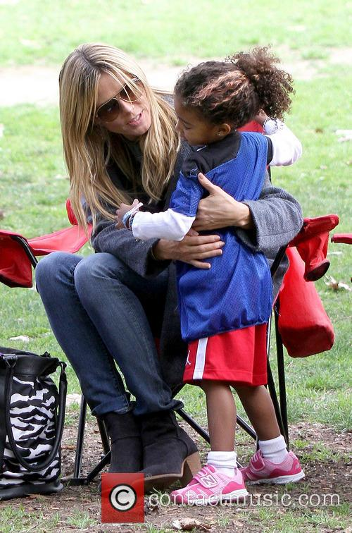 Heidi Klum and Lou Samuel 5