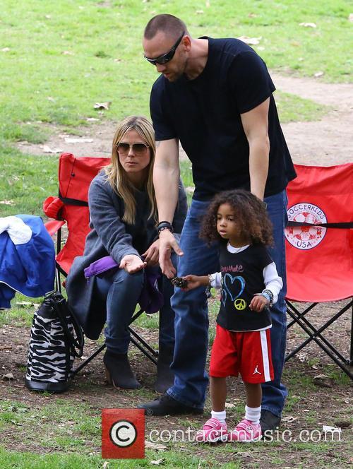 Heidi Klum, Martin Kristen and Lou Samuel 2