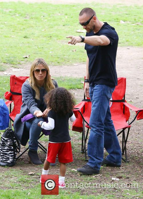 Heidi Klum, Martin Kristen and Lou Samuel 1
