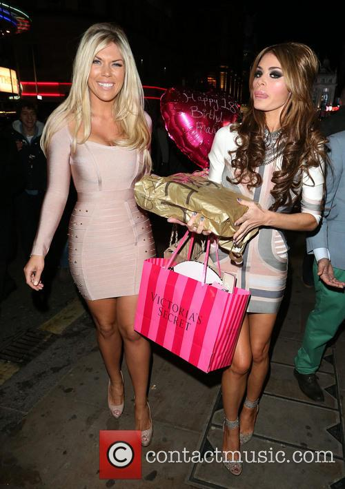 Frankie Essex and Chloe Sims 4