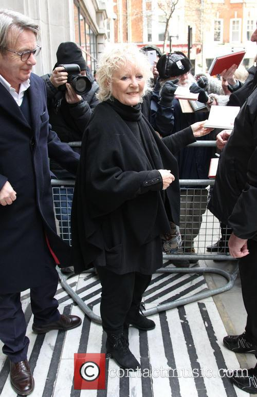 Petula Clark arriving at Radio 2 for The Graham Norton Show