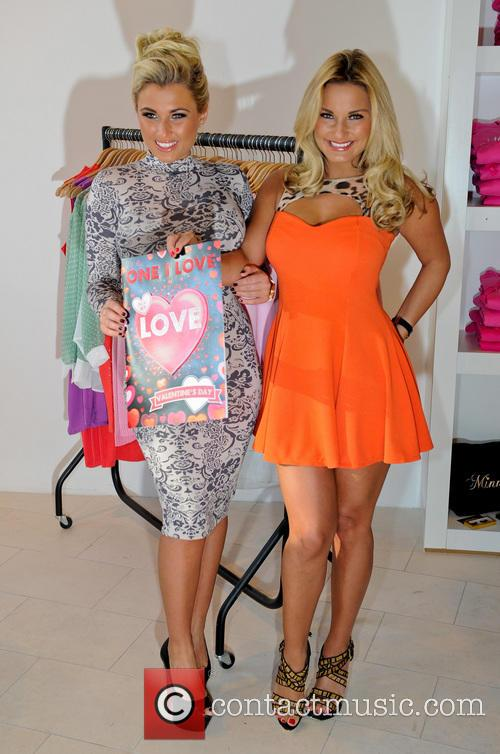 Sam and Billie Faiers officially opens Minnies Boutique...