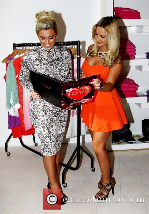 Sam and Billie Faiers officially open the new...
