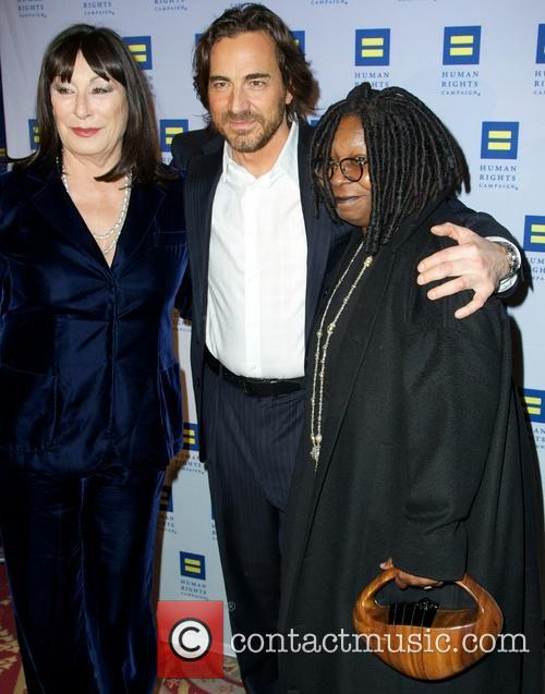 Anjelica Huston, Thorsten Kaye and Whoopi Goldberg 1