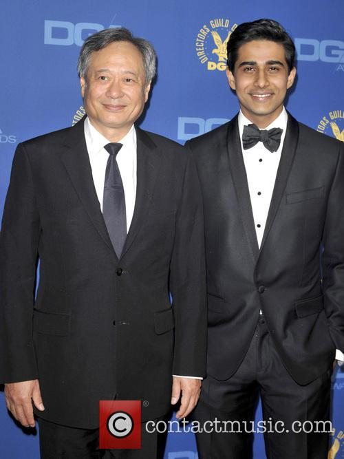 Ang Lee and Suraj Sharma 2