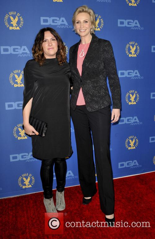 Jill Soloway and Jane Lynch 2
