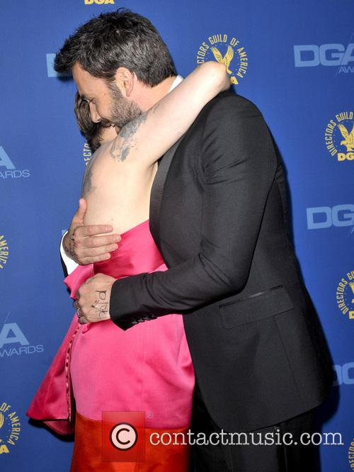 Lena Dunham and Ben Affleck 9