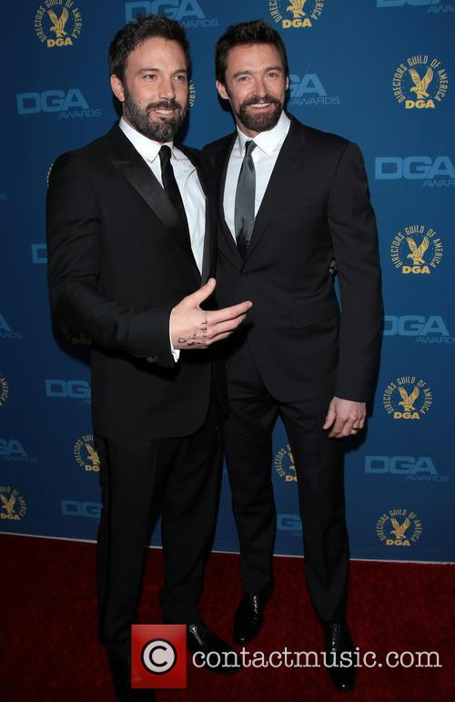 Ben Affleck and Hugh Jackman 6