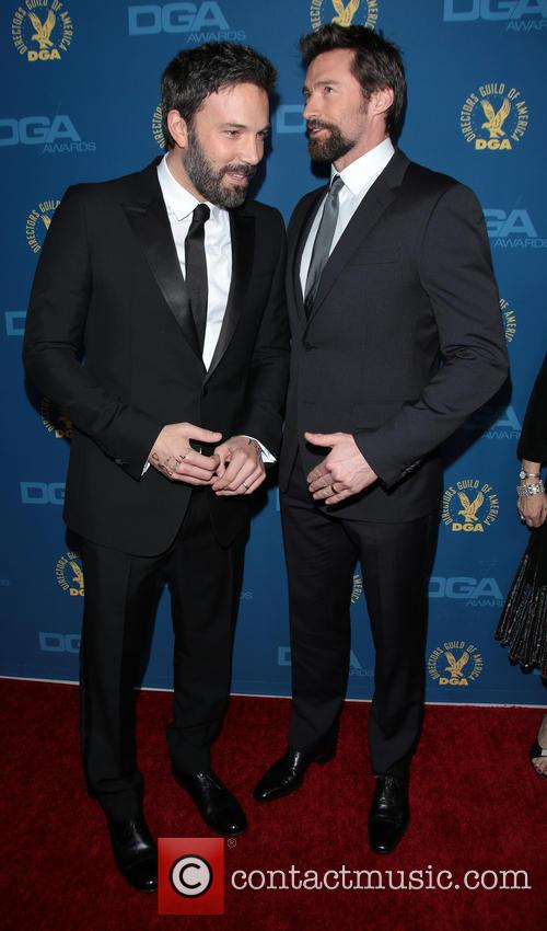 Ben Affleck and Hugh Jackman 7