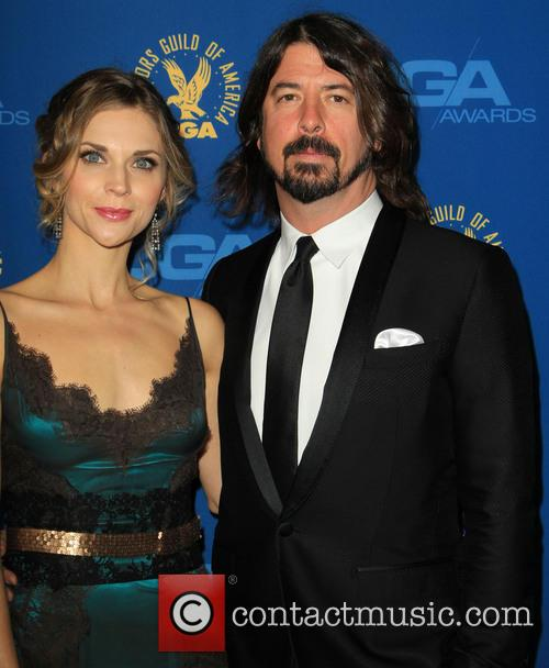 Jordyn Blum Grohl and Dave Grohl 2