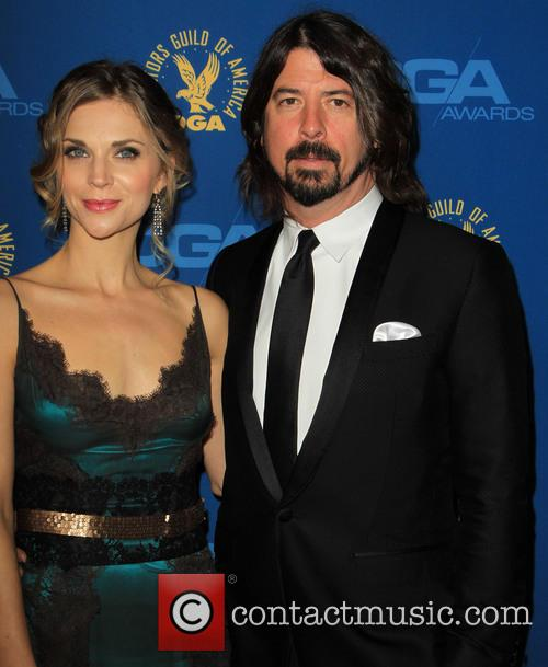 Jordyn Blum Grohl and Dave Grohl 1