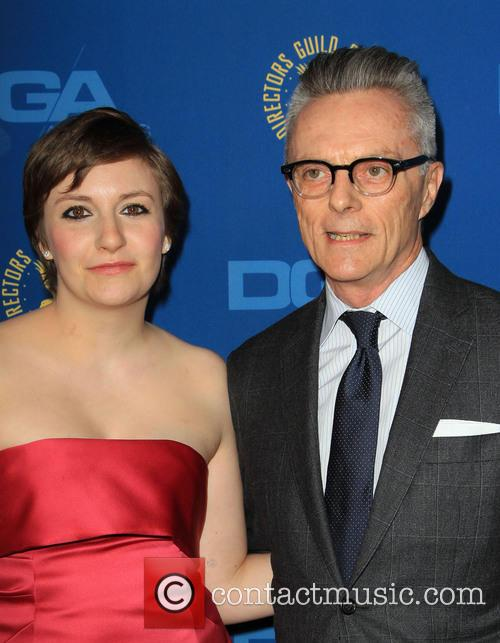 Lena Dunham, her Father, Directors Guild Of America
