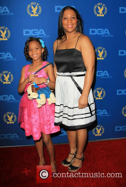 Quvenzhane Wallis and Qulyndreia Wallis 3