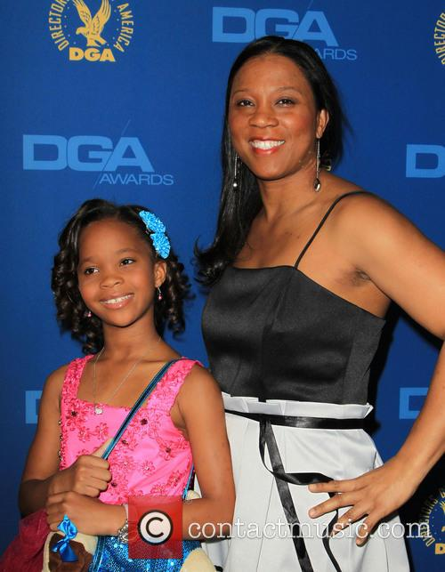 Quvenzhane Wallis and Qulyndreia Wallis 6