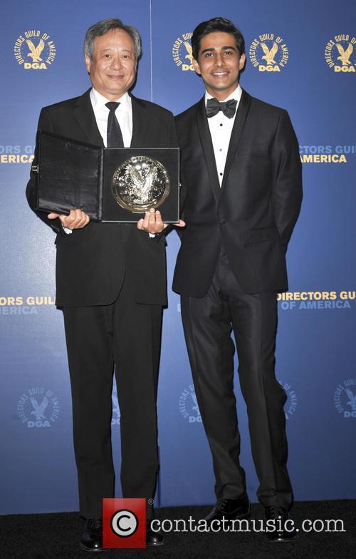 Ang Lee and Suraj Sharma 5
