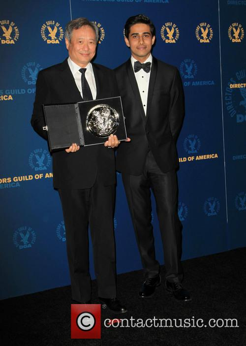 Ang Lee and Suraj Sharma 8