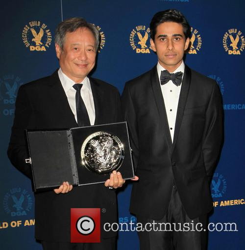 Ang Lee and Suraj Sharma 11