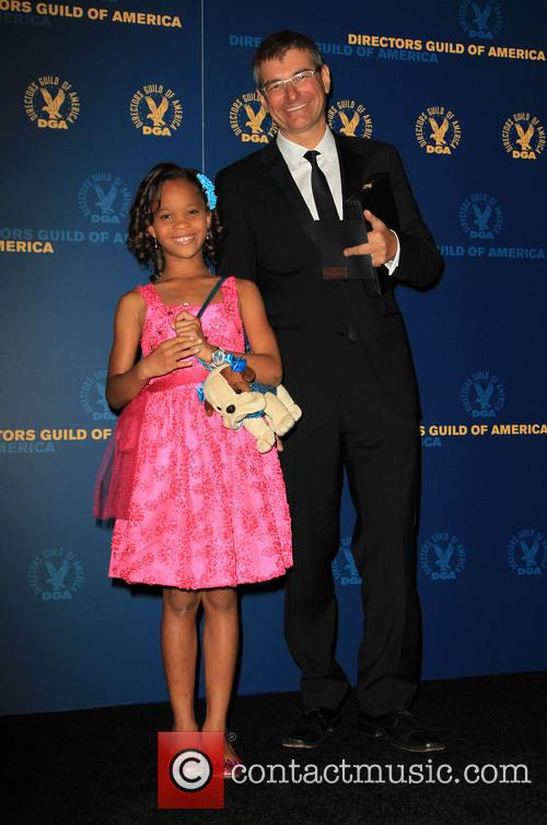 Quvenzhane Wallis and Paul Hoen 9