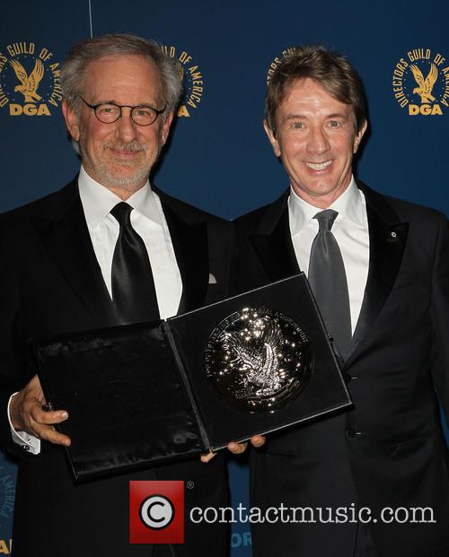 Steven Spielberg and Martin Short 1