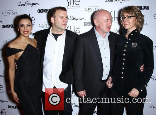 Eva Longoria, Tilman Fertitta, Mark Kelly and Gabrielle Giffords 7
