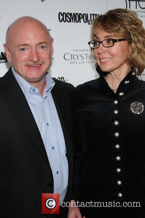 Gabby Giffords and Mark Kelly 2