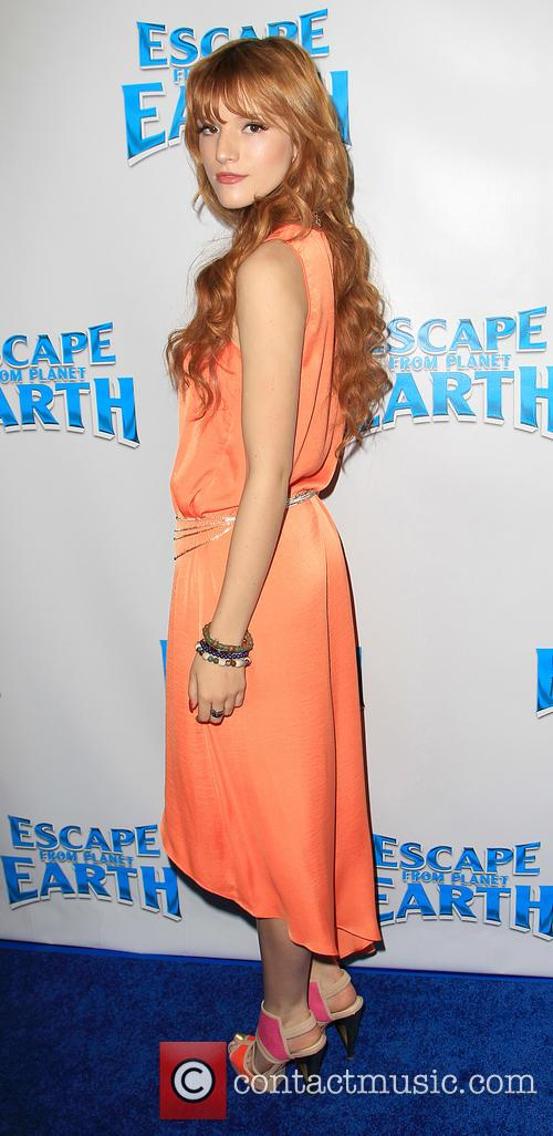bella thorne escape from planet earth premiere 3481123