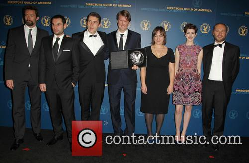 Hugh Jackman, Tom Hooper, Anne Hathaway and Guests 4