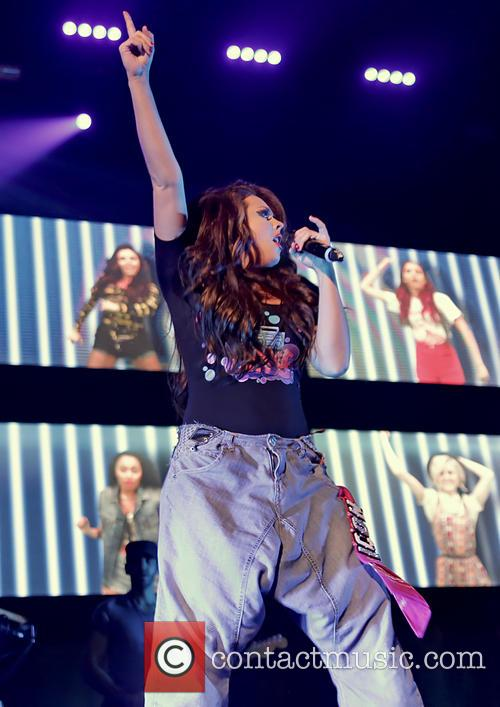jesy nelson little mix performing at liverpool echo 3481182