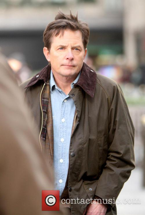 Michael J. Fox Shooting On Location