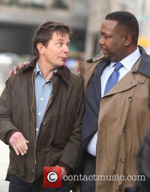 Michael J. Fox and Wendell Pierce 3