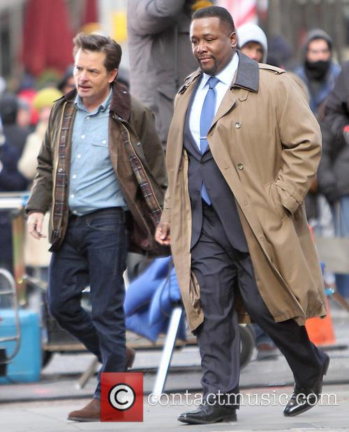 Michael J. Fox and Wendell Pierce 5