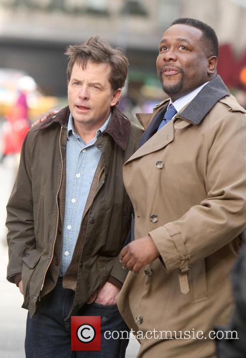 Michael J. Fox and Wendell Pierce 9