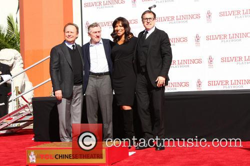 Billy Crystal, Robert De Niro, Grace Hightower and David O. Russell 2