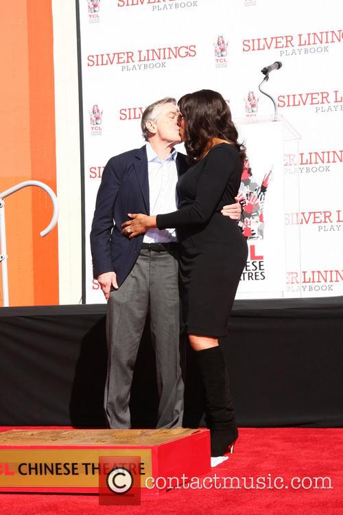 Robert De Niro and Grace Hightower 4