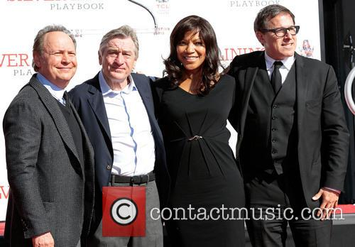 Billy Crystal, Robert De Niro, Wife Grace Hightower and Director David O. Russell 6