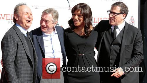 Billy Crystal, Robert De Niro, Wife Grace Hightower and Director David O. Russell 10