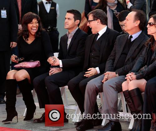 Grace Hightower, A Guest, Director David O. Russell and And Billy Crystal 2