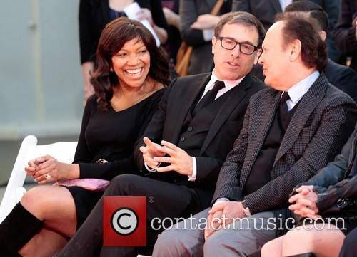 Grace Hightower, Director David O. Russell and And Billy Crystal 3