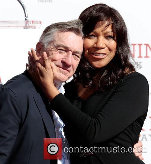 Robert De Niro and Grace Hightower 1
