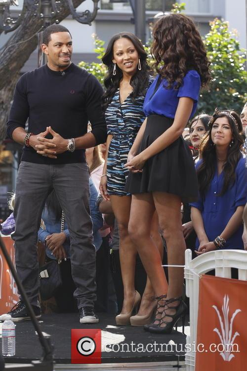 Meagan Good and Laz Alonso 10