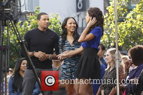 Meagan Good and Laz Alonso 11
