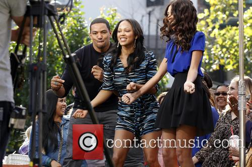 Meagan Good and Laz Alonso 9
