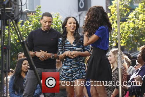 Meagan Good and Laz Alonso 13