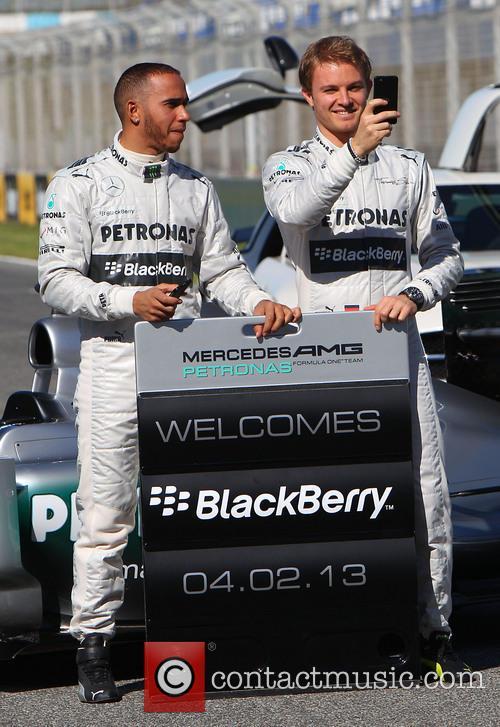 Lewis Hamilton and Nico Rosberg 3