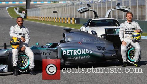 Lewis Hamilton and Nico Rosberg 6